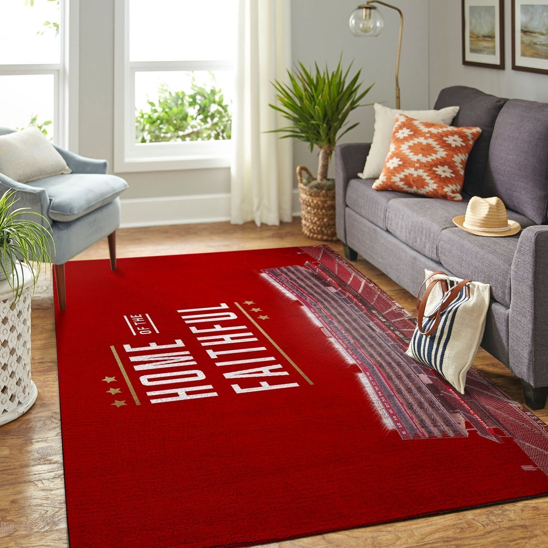 Amazon San Francisco 49ers Living Room Area No4890 Rug