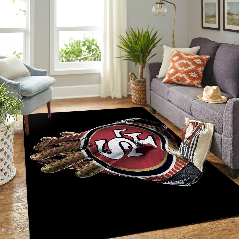 Amazon San Francisco 49ers Living Room Area No4892 Rug