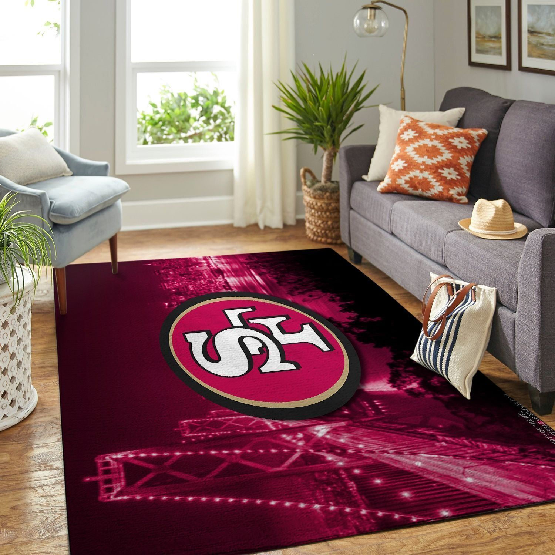 Amazon San Francisco 49ers Living Room Area No4894 Rug