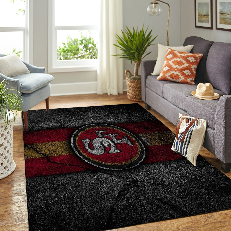 Amazon San Francisco 49ers Living Room Area No4897 Rug
