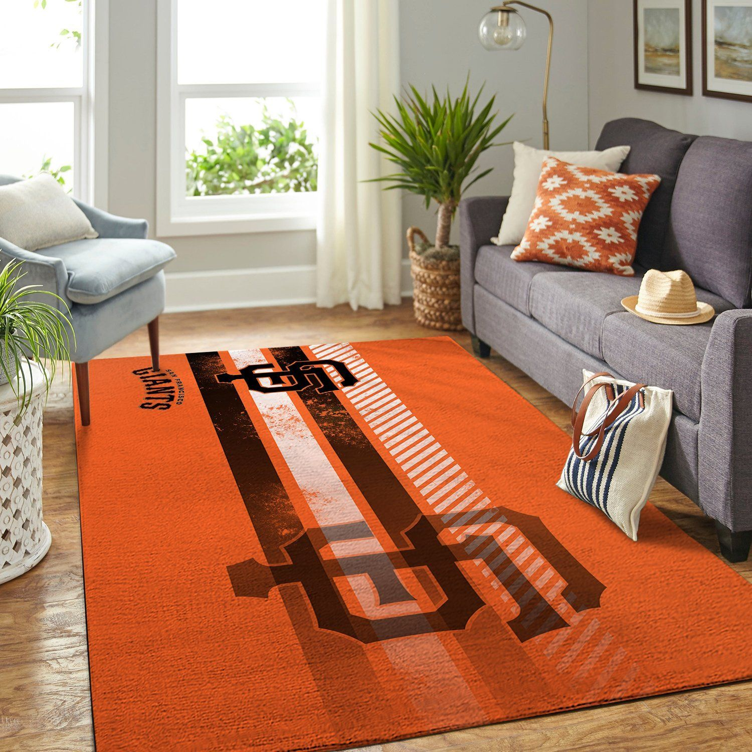Amazon San Francisco Giants Living Room Area No4901 Rug
