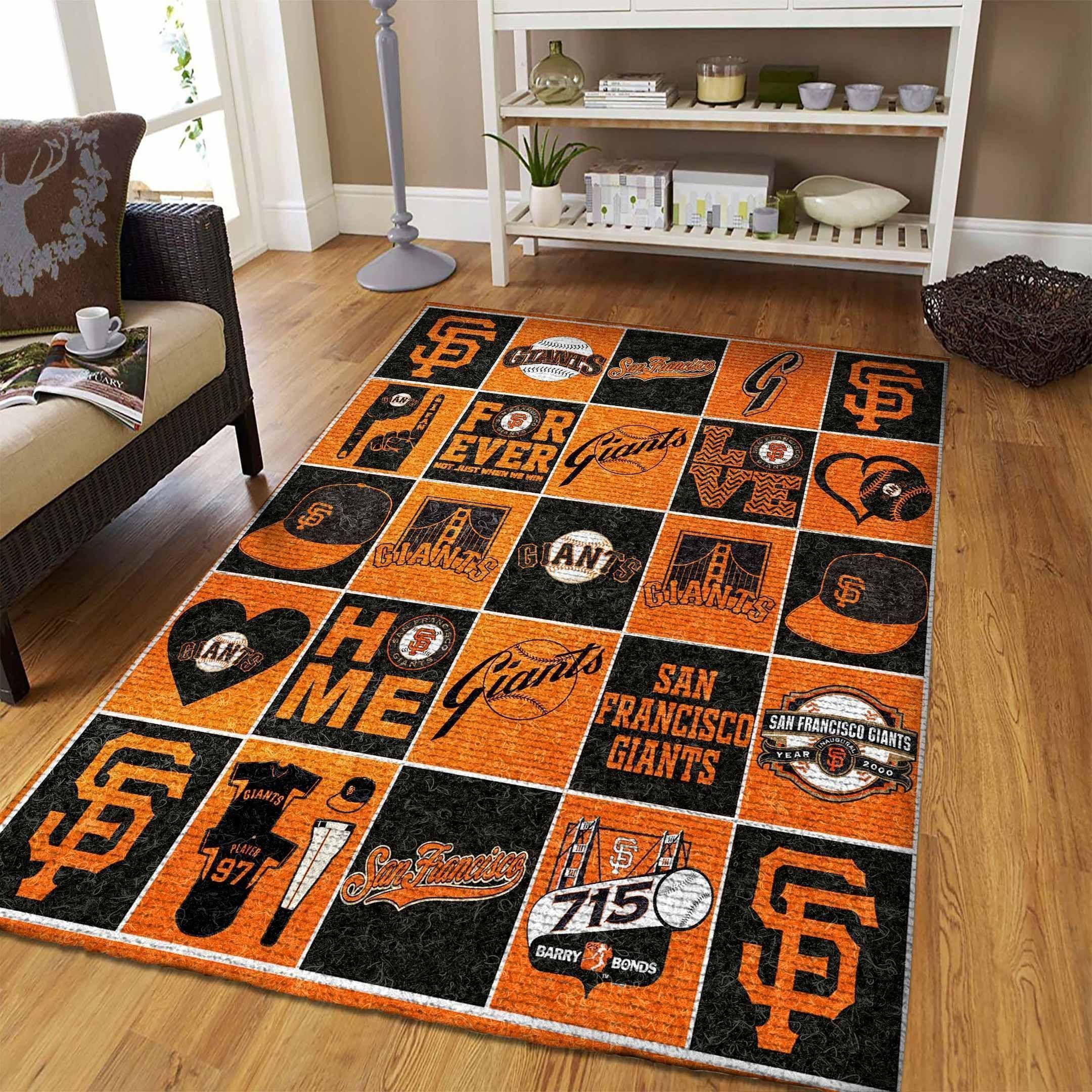 Amazon San Francisco Giants Living Room Area No4926 Rug