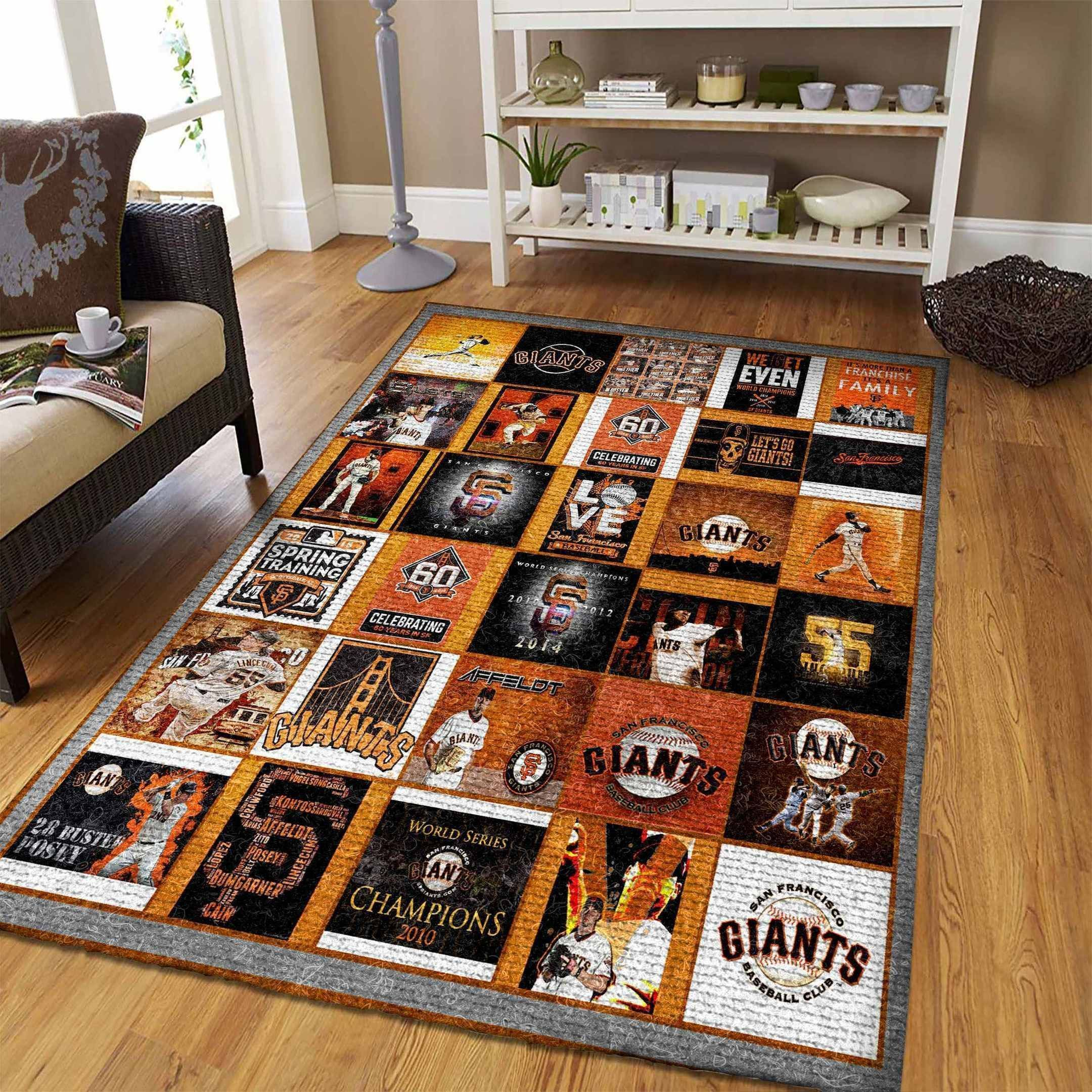 Amazon San Francisco Giants Living Room Area No4929 Rug