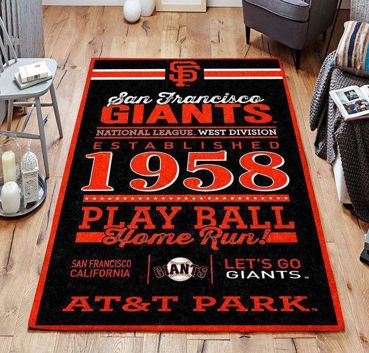 Amazon San Francisco Giants Living Room Area No4932 Rug