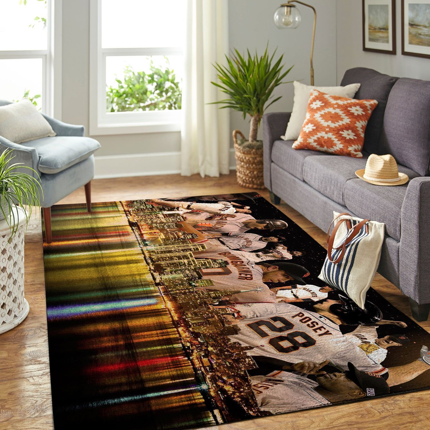 Amazon San Francisco Giants Living Room Area No4933 Rug