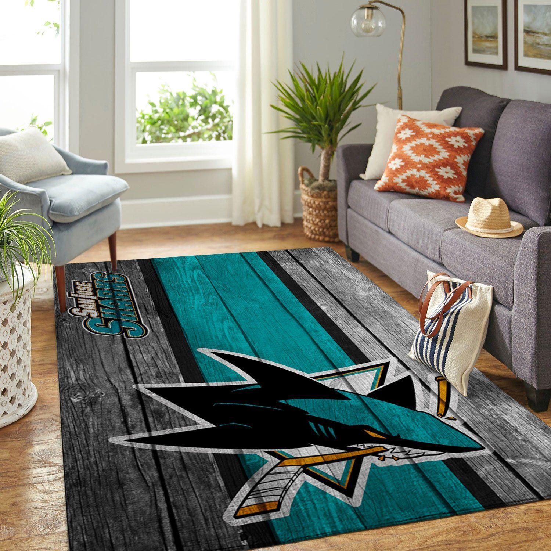 Amazon San Jose Sharks Living Room Area No4941 Rug