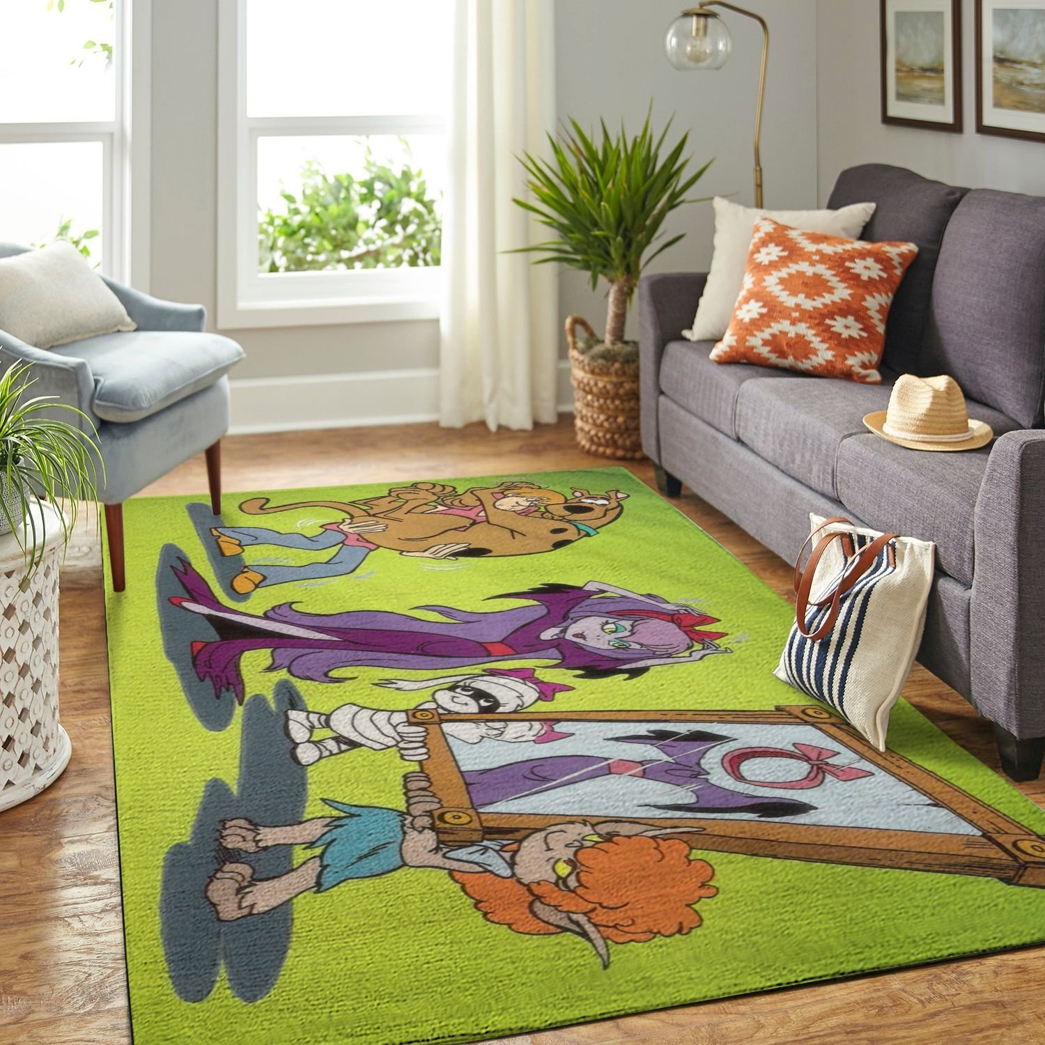 Amazon Scooby Dog Living Room Area No6510 Rug