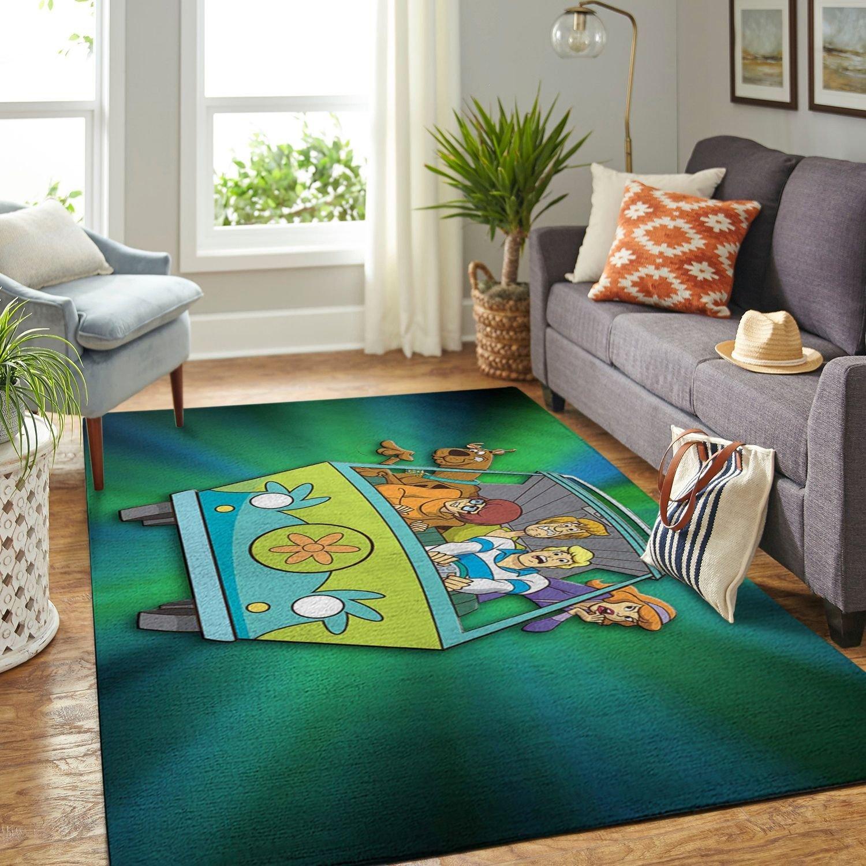 Amazon Scooby Dog Living Room Area No6512 Rug