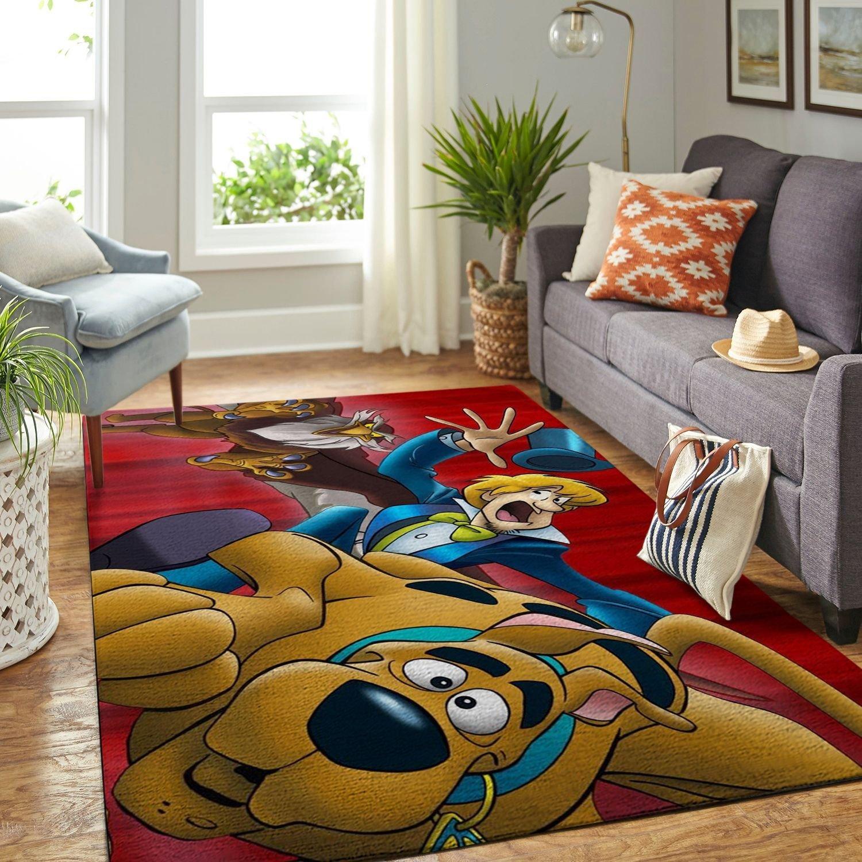Amazon Scooby Dog Living Room Area No6513 Rug