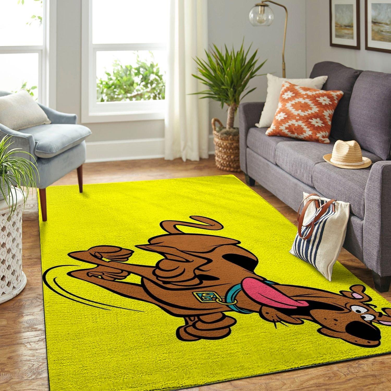Amazon Scooby Dog Living Room Area No6515 Rug