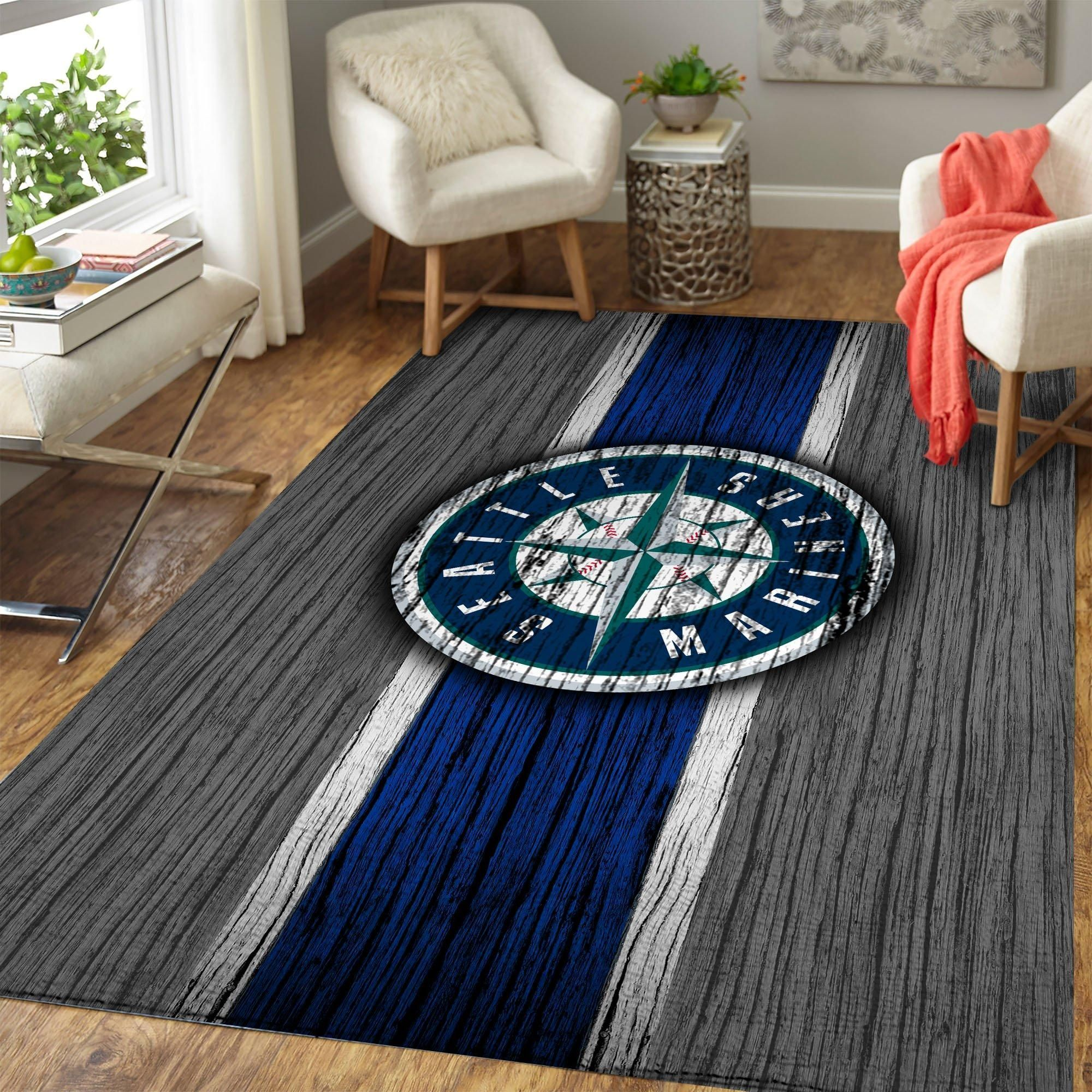 Amazon Seattle Mariners Living Room Area No4950 Rug