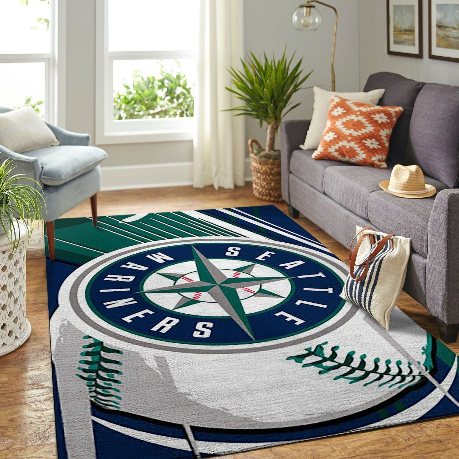Amazon Seattle Mariners Living Room Area No4956 Rug