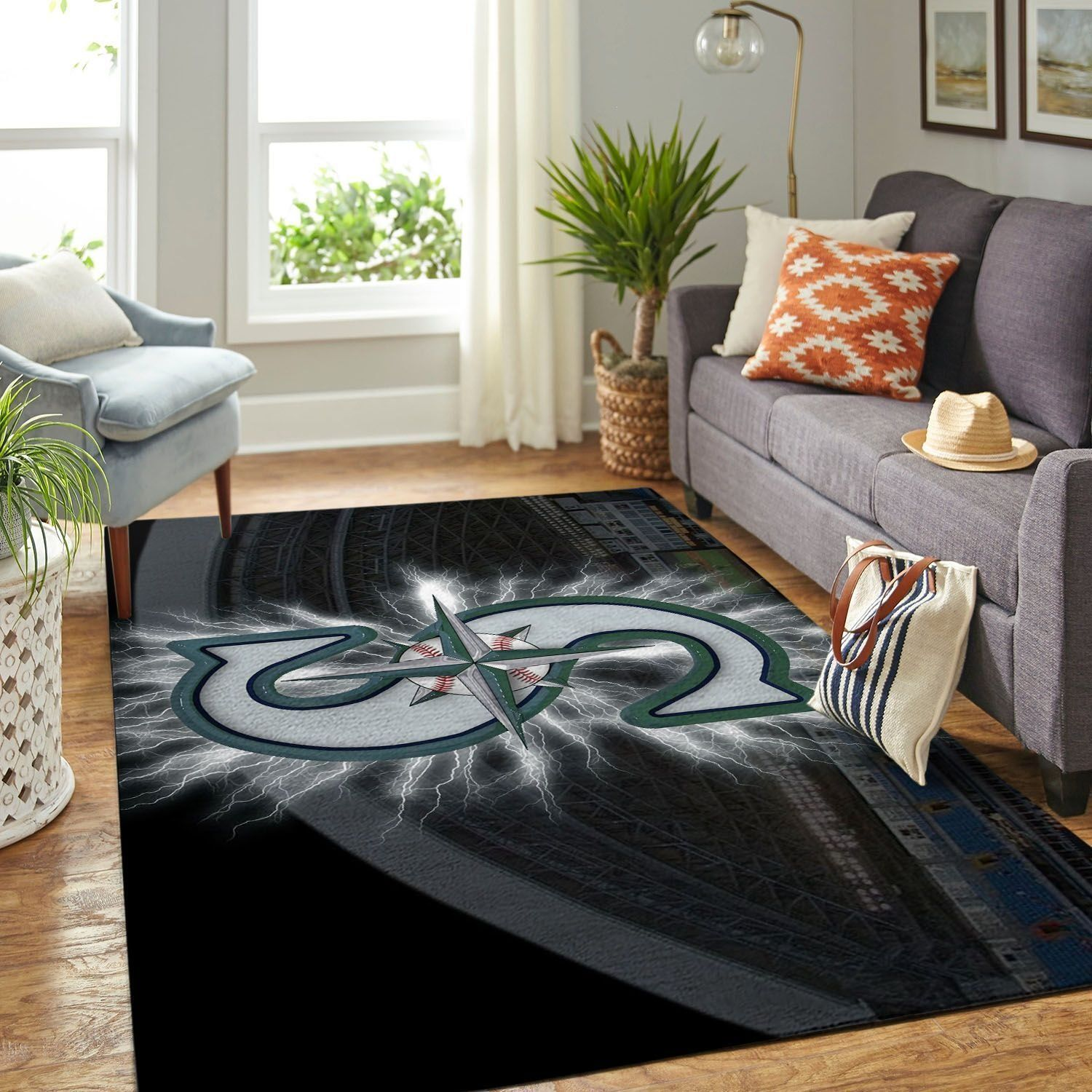Amazon Seattle Mariners Living Room Area No4957 Rug