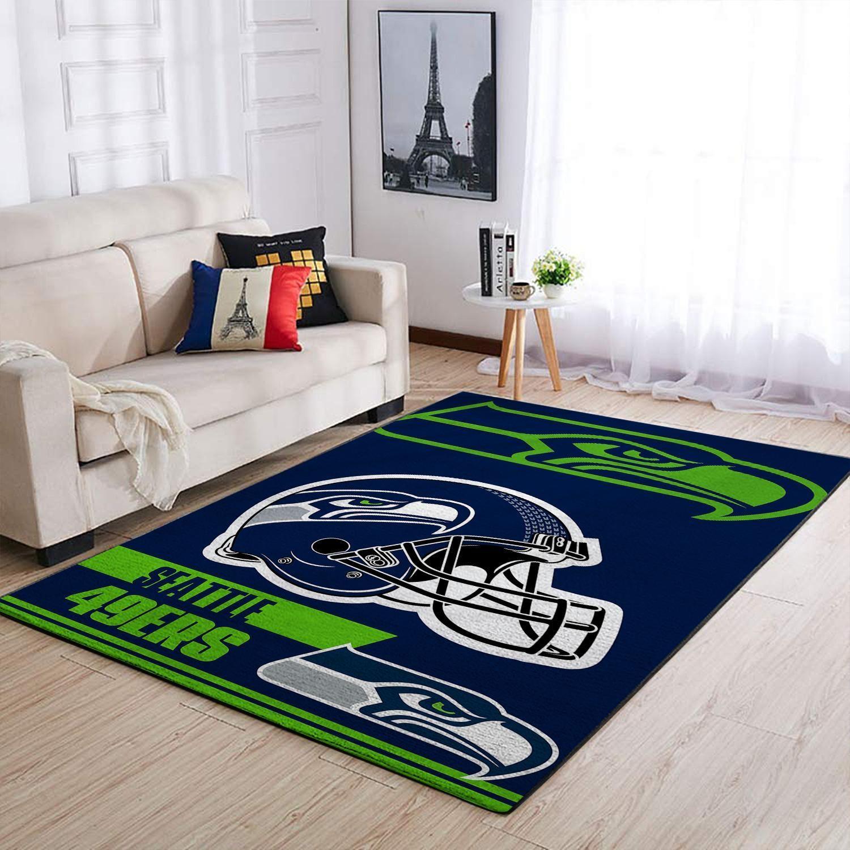Amazon Seattle Seahawks Living Room Area No4970 Rug