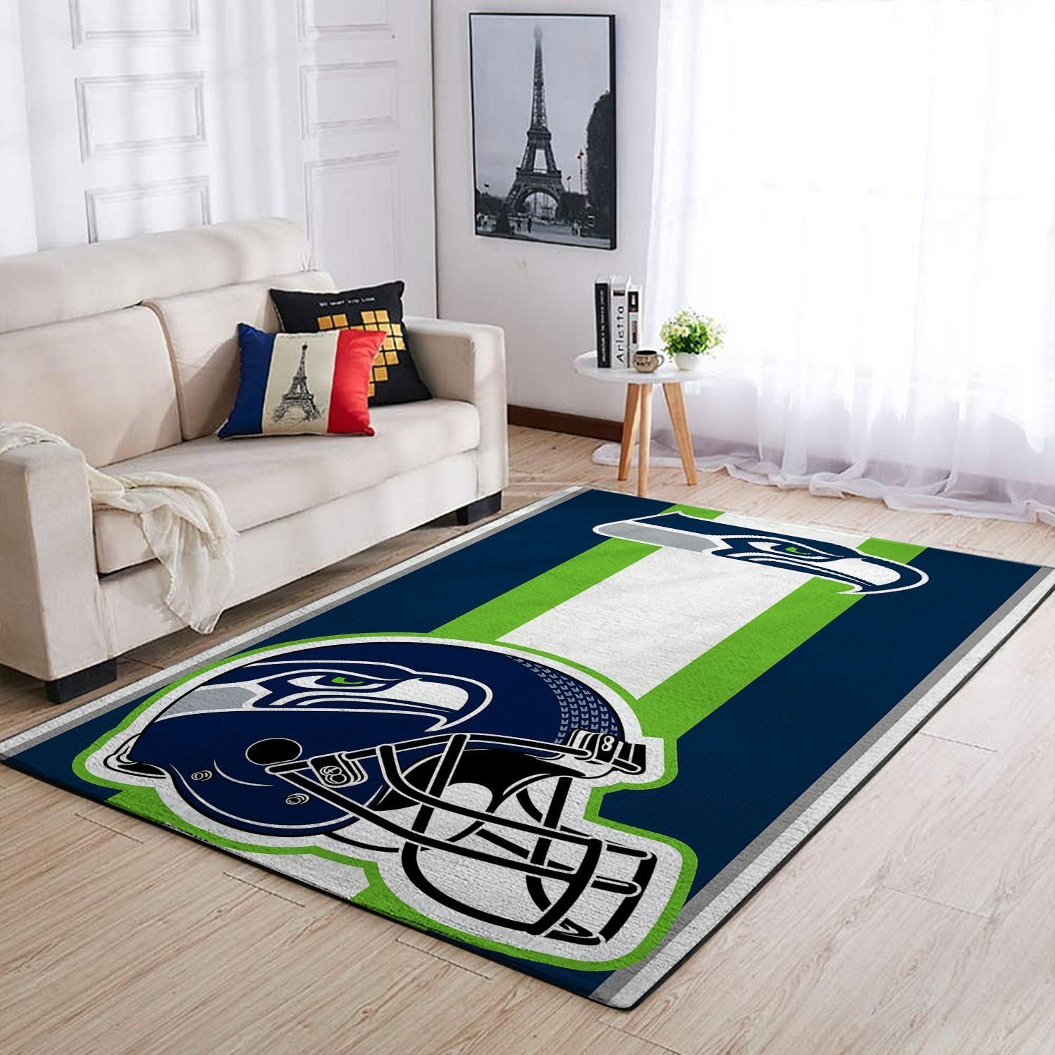 Amazon Seattle Seahawks Living Room Area No4971 Rug