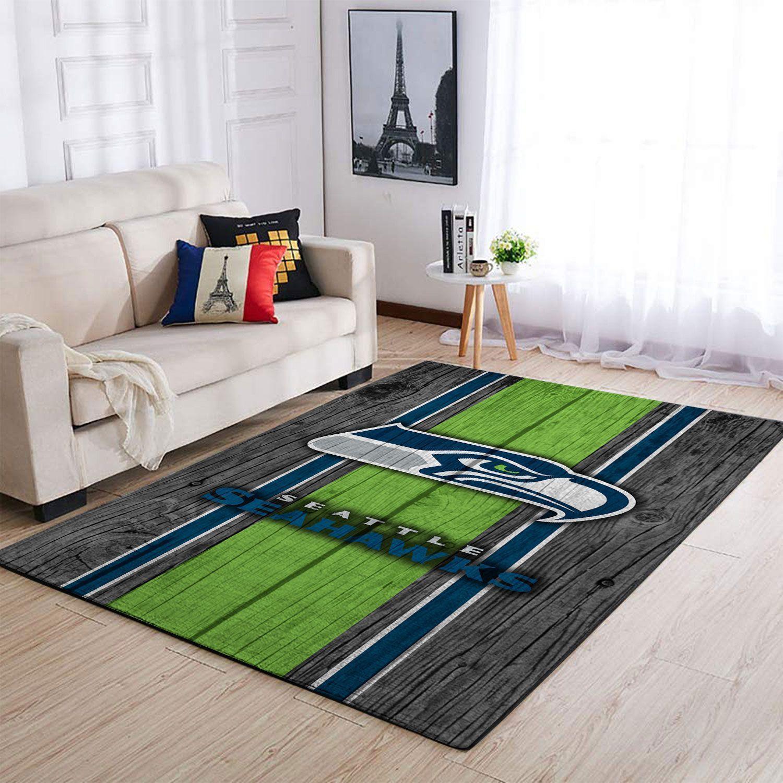 Amazon Seattle Seahawks Living Room Area No4980 Rug