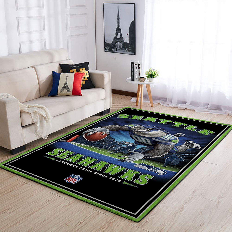 Amazon Seattle Seahawks Living Room Area No4982 Rug