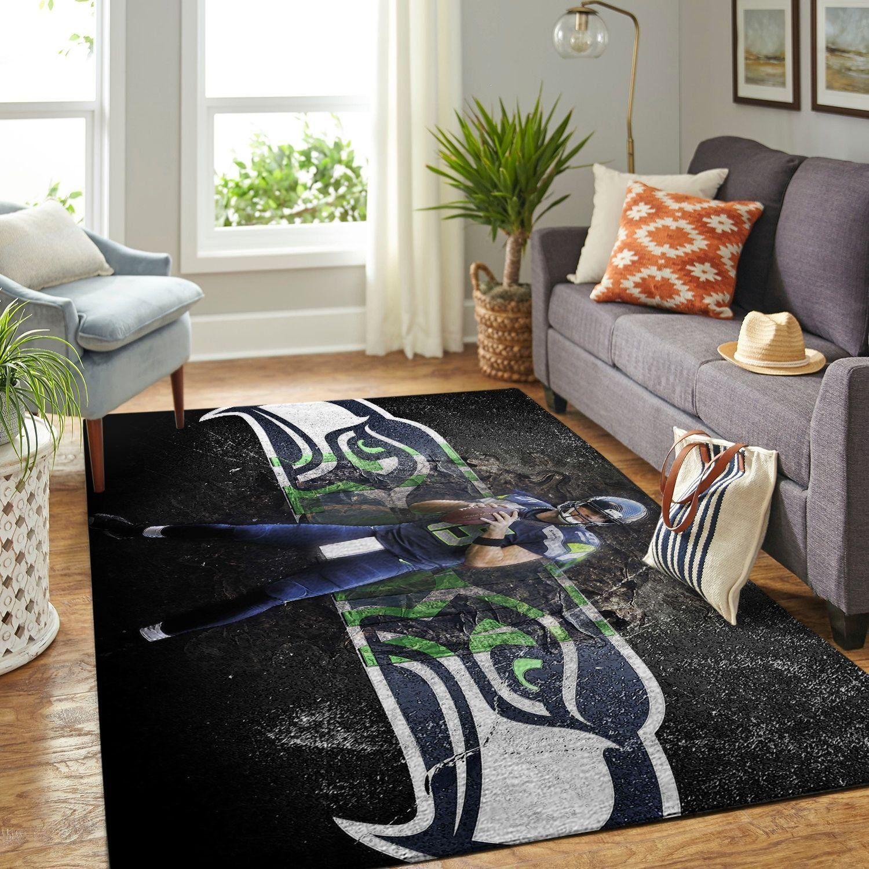Amazon Seattle Seahawks Living Room Area No4989 Rug