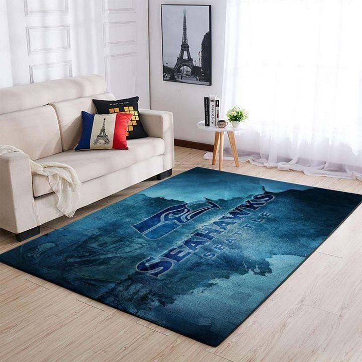 Amazon Seattle Seahawks Living Room Area No4990 Rug