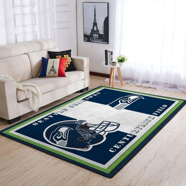 Amazon Seattle Seahawks Living Room Area No4992 Rug