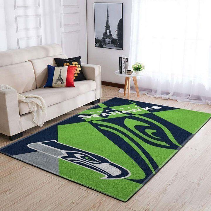 Amazon Seattle Seahawks Living Room Area No4993 Rug