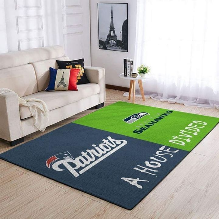 Amazon Seattle Seahawks Living Room Area No4994 Rug