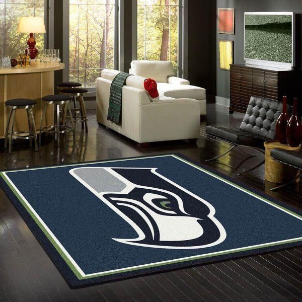 Amazon Seattle Seahawks Living Room Area No4995 Rug