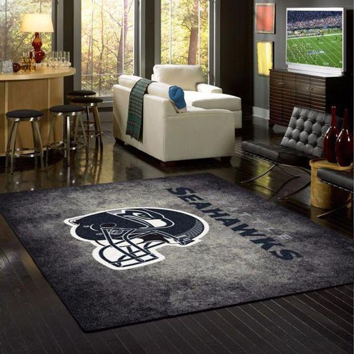 Amazon Seattle Seahawks Living Room Area No4996 Rug