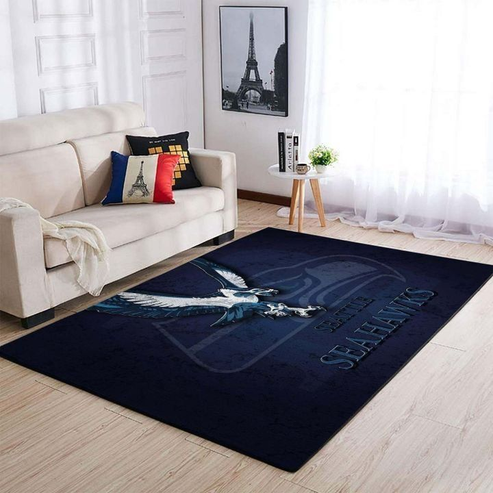 Amazon Seattle Seahawks Living Room Area No4997 Rug