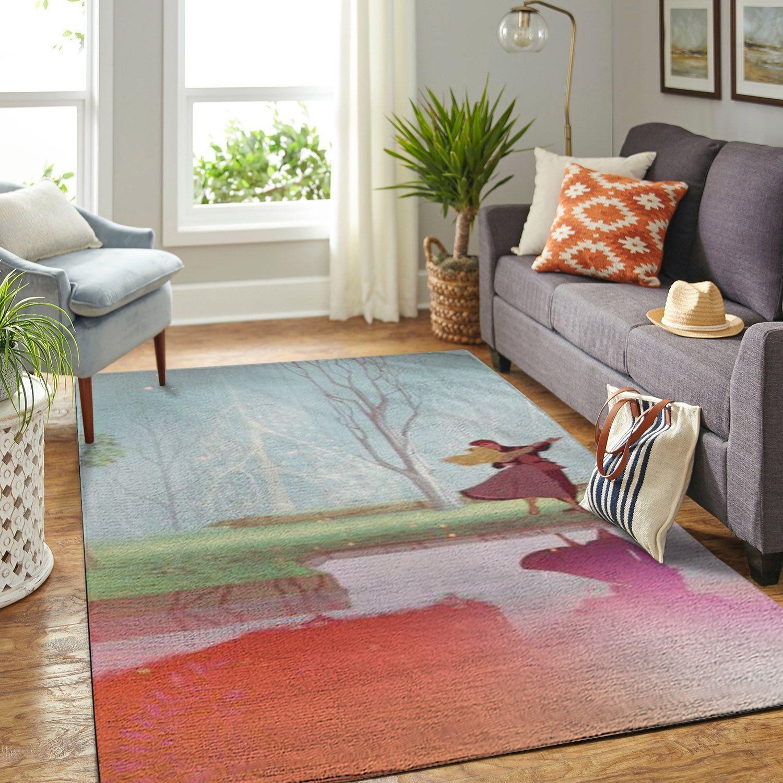 Amazon Sleeping Princess Aurora Dancing With Prince Living Room Area No6531 Rug