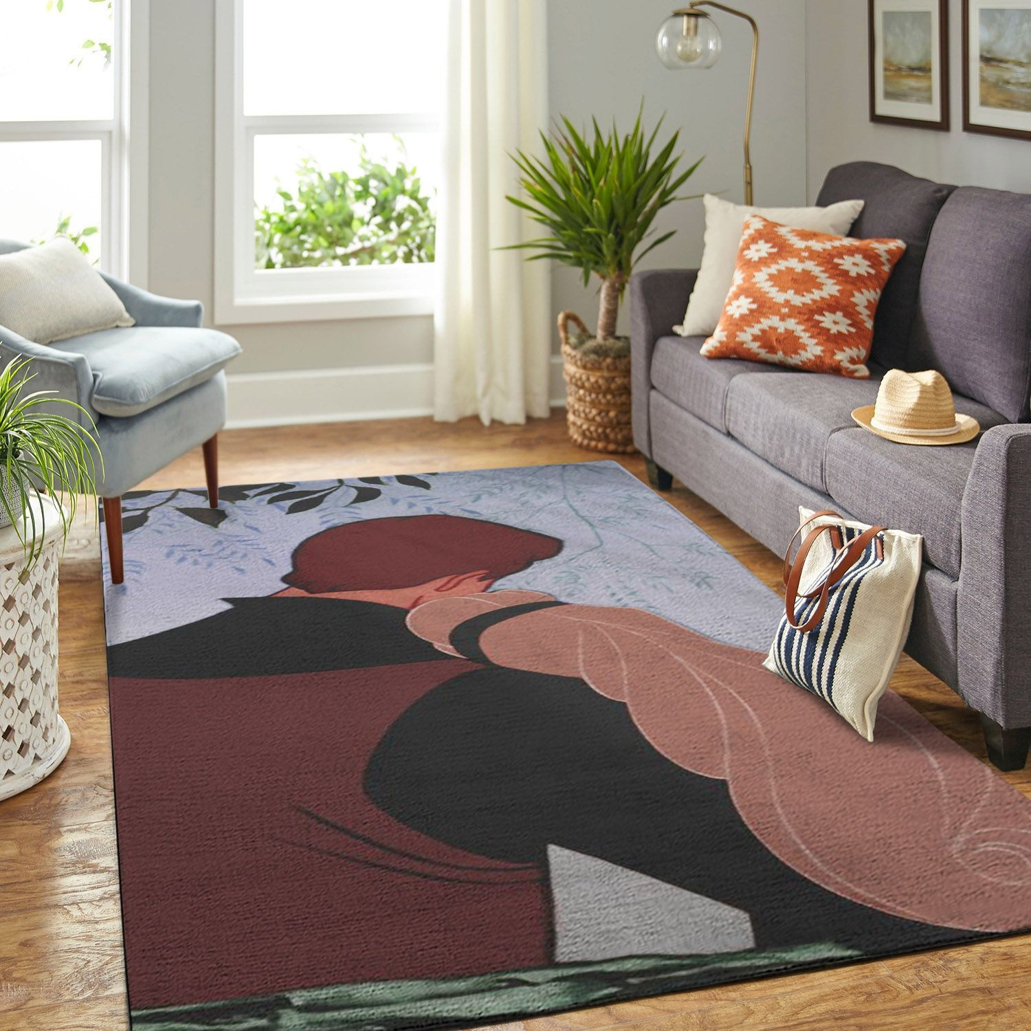 Amazon Sleeping Princess Aurora Living Room Area No6519 Rug