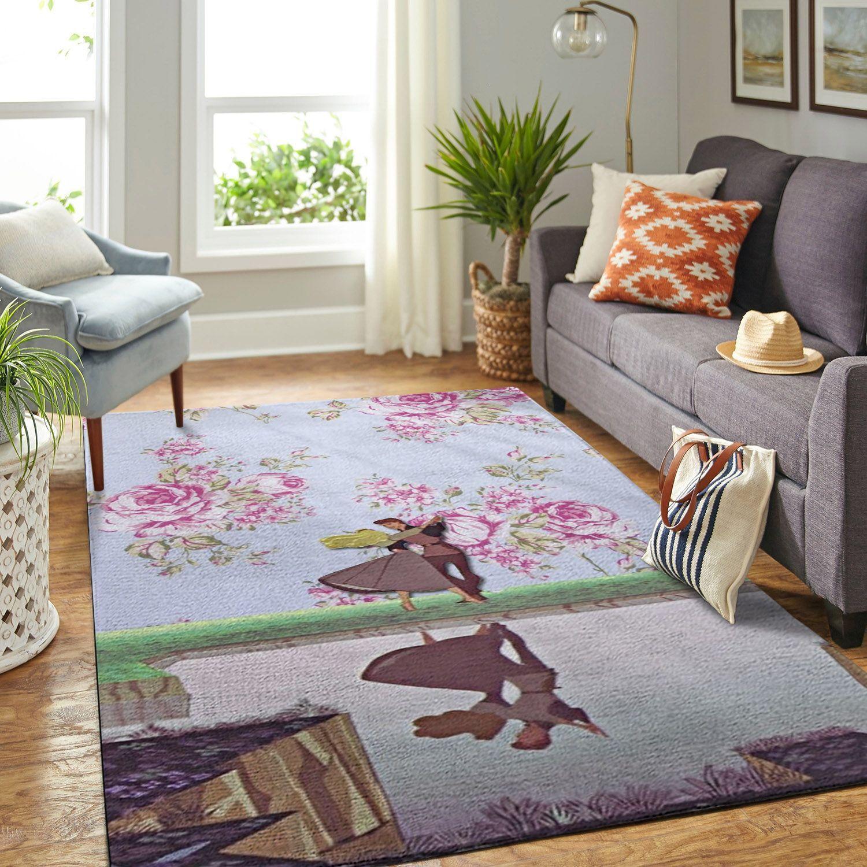 Amazon Sleeping Princess Aurora Living Room Area No6521 Rug