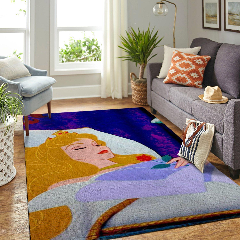 Amazon Sleeping Princess Aurora Living Room Area No6524 Rug