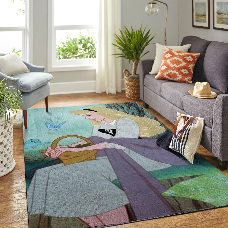 Amazon Sleeping Princess Aurora Living Room Area No6525 Rug