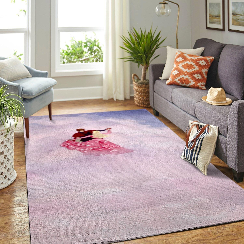 Amazon Sleeping Princess Aurora Living Room Area No6530 Rug