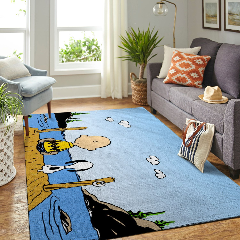 Amazon Snoopy Dog And Peanuts Comic Living Room Area No5881 Rug