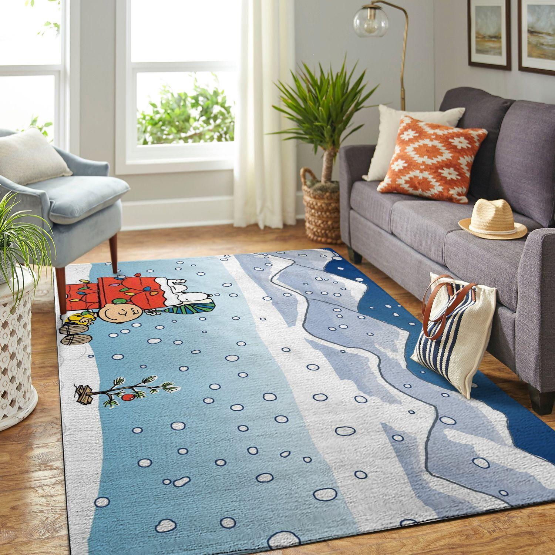 Amazon Snoopy Dog And Peanuts Comic Living Room Area No5882 Rug