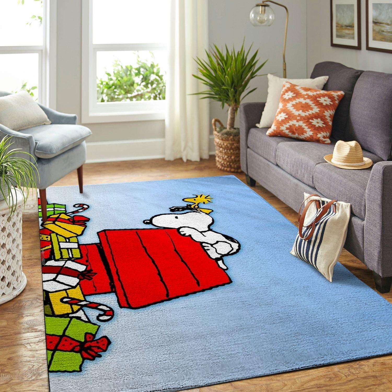 Amazon Snoopy Dog And Peanuts Comic Living Room Area No6540 Rug
