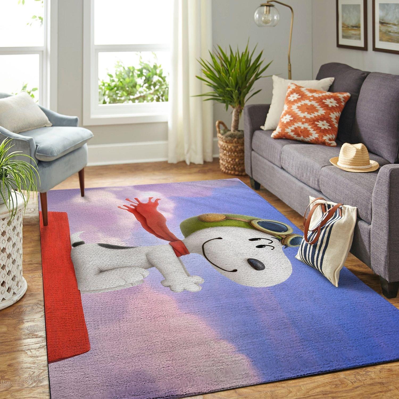 Amazon Snoopy Dog And Peanuts Comic Living Room Area No6543 Rug