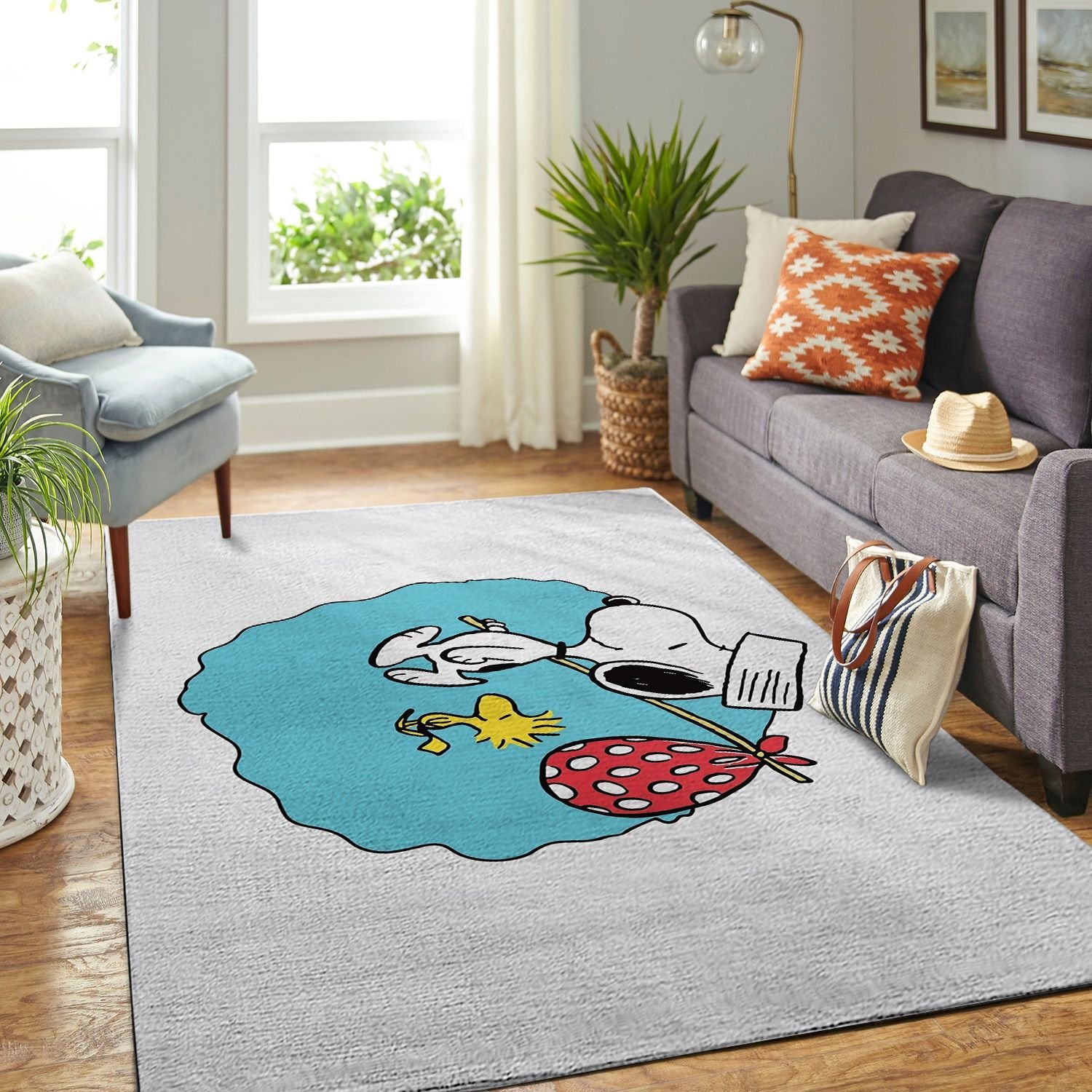 Amazon Snoopy Dog And Peanuts Comic Living Room Area No6545 Rug
