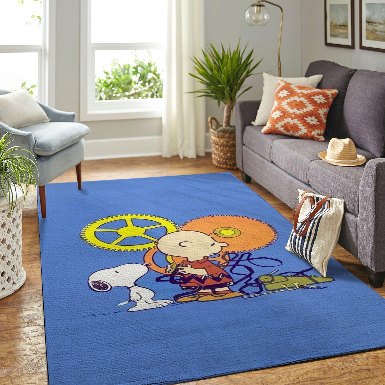 Amazon Snoopy Dog And Peanuts Comic Living Room Area No6554 Rug