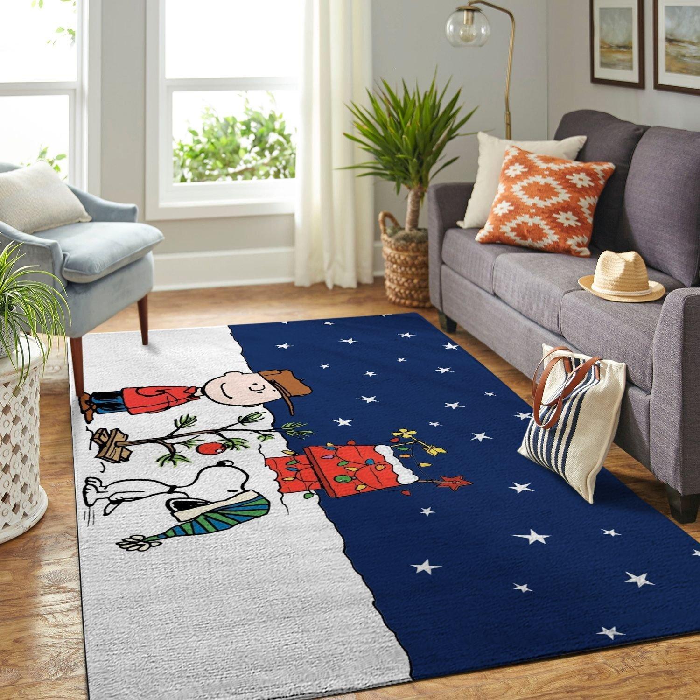 Amazon Snoopy Dog And Peanuts Comic Living Room Area No6562 Rug