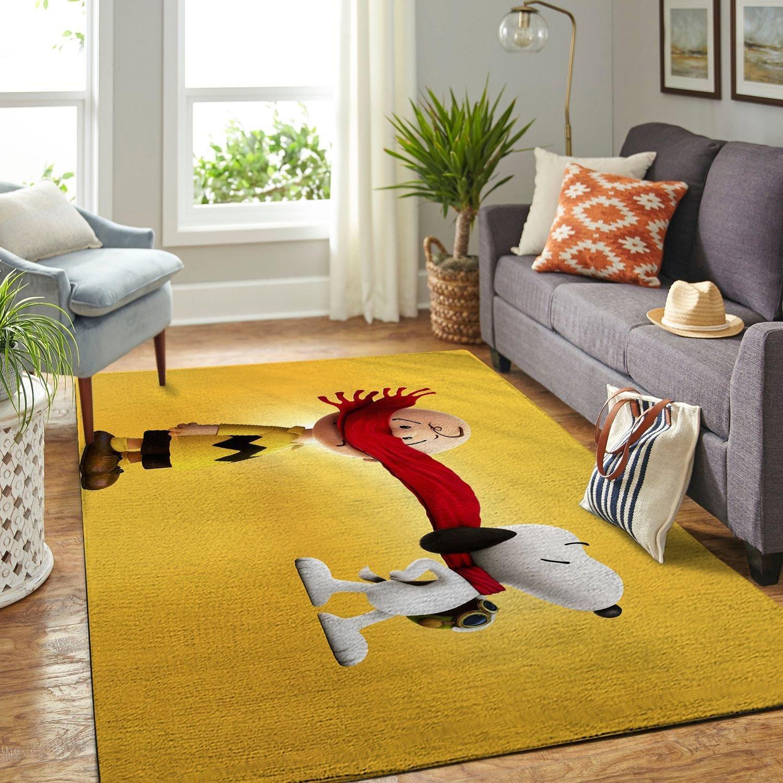 Amazon Snoopy Dog And Peanuts Comic Living Room Area No6563 Rug