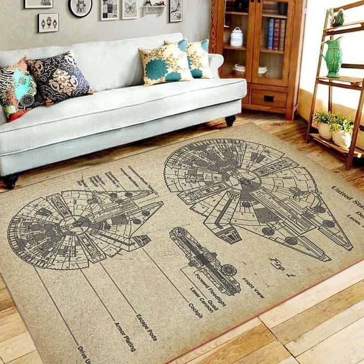 Amazon Star War Living Room Area No6601 Rug