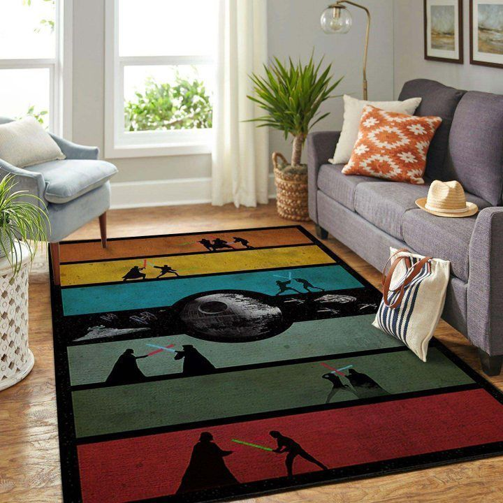 Amazon Star War Living Room Area No6604 Rug