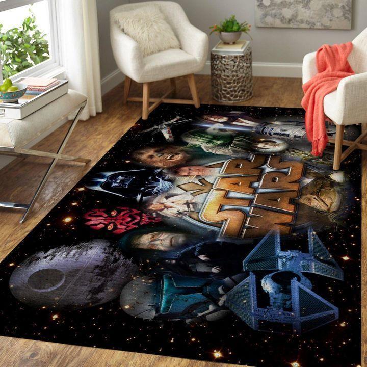 Amazon Star War Living Room Area No6605 Rug
