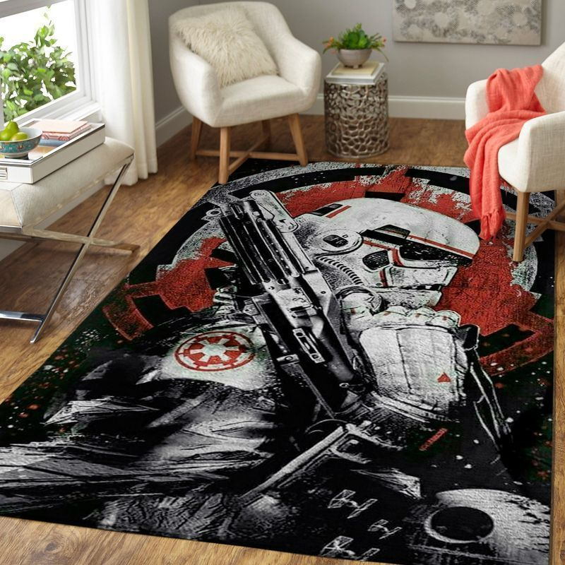 Amazon Star War Living Room Area No6616 Rug