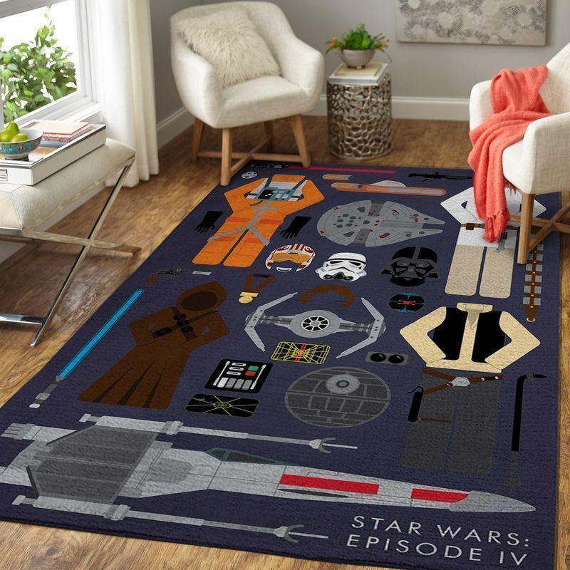 Amazon Star War Living Room Area No6619 Rug