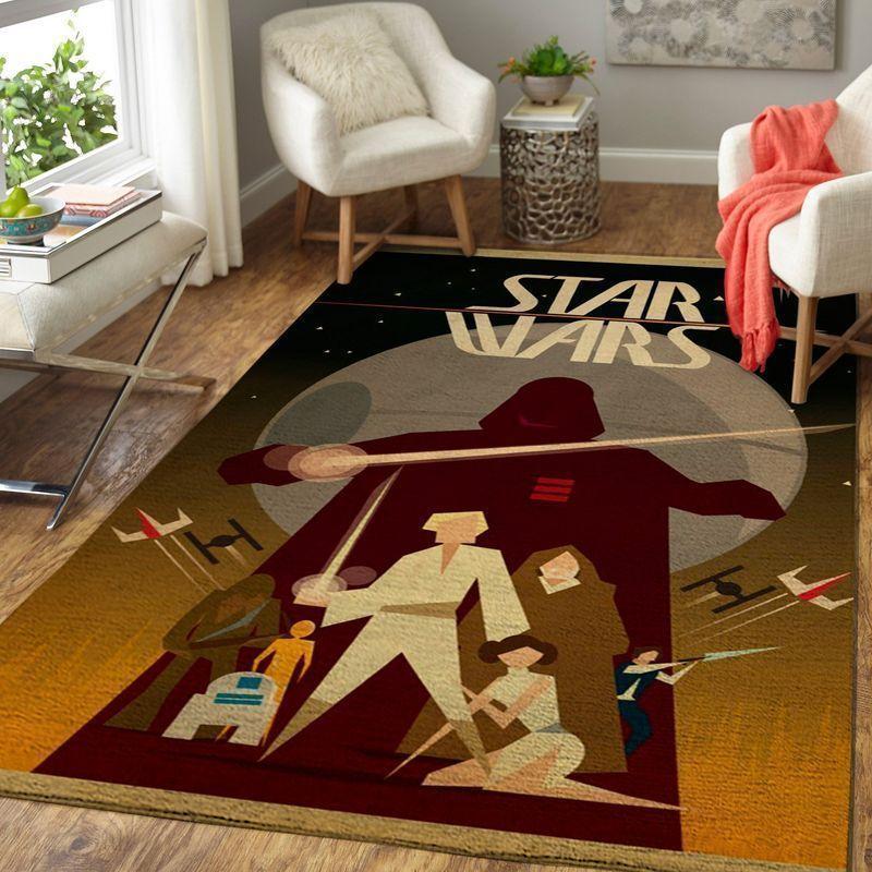 Amazon Star War Living Room Area No6628 Rug