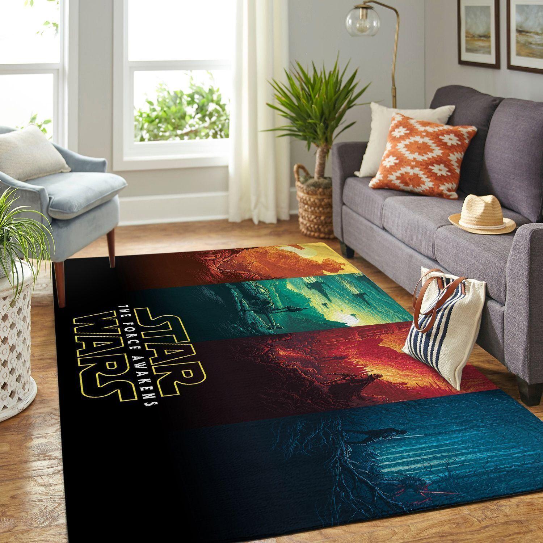 Amazon Star War Living Room Area No6632 Rug